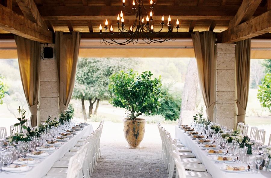 SE MARIER DANS UN DÉCOR PROVENÇAL - la réception