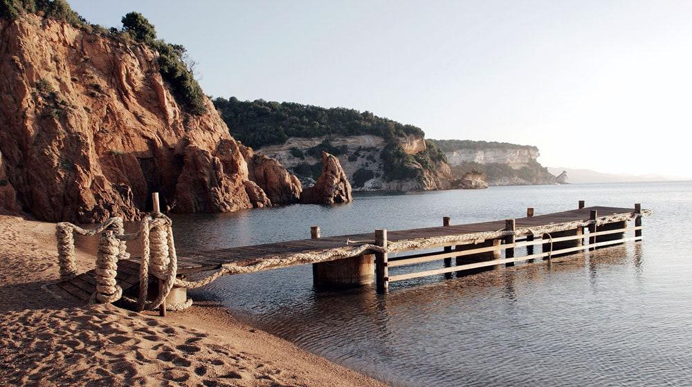 Mariage rustique chic en Corse du Sud - bord de mer
