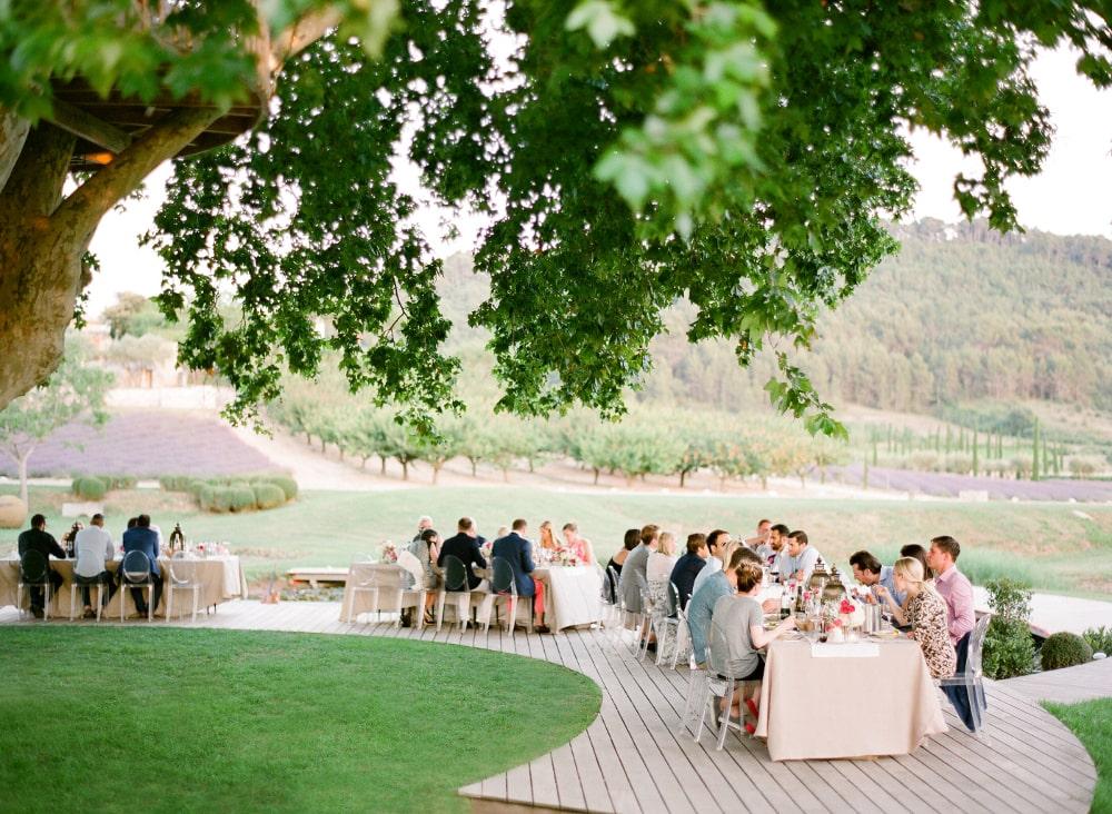 MARIAGE DANS UN PARC ÉLÉGANT - réception