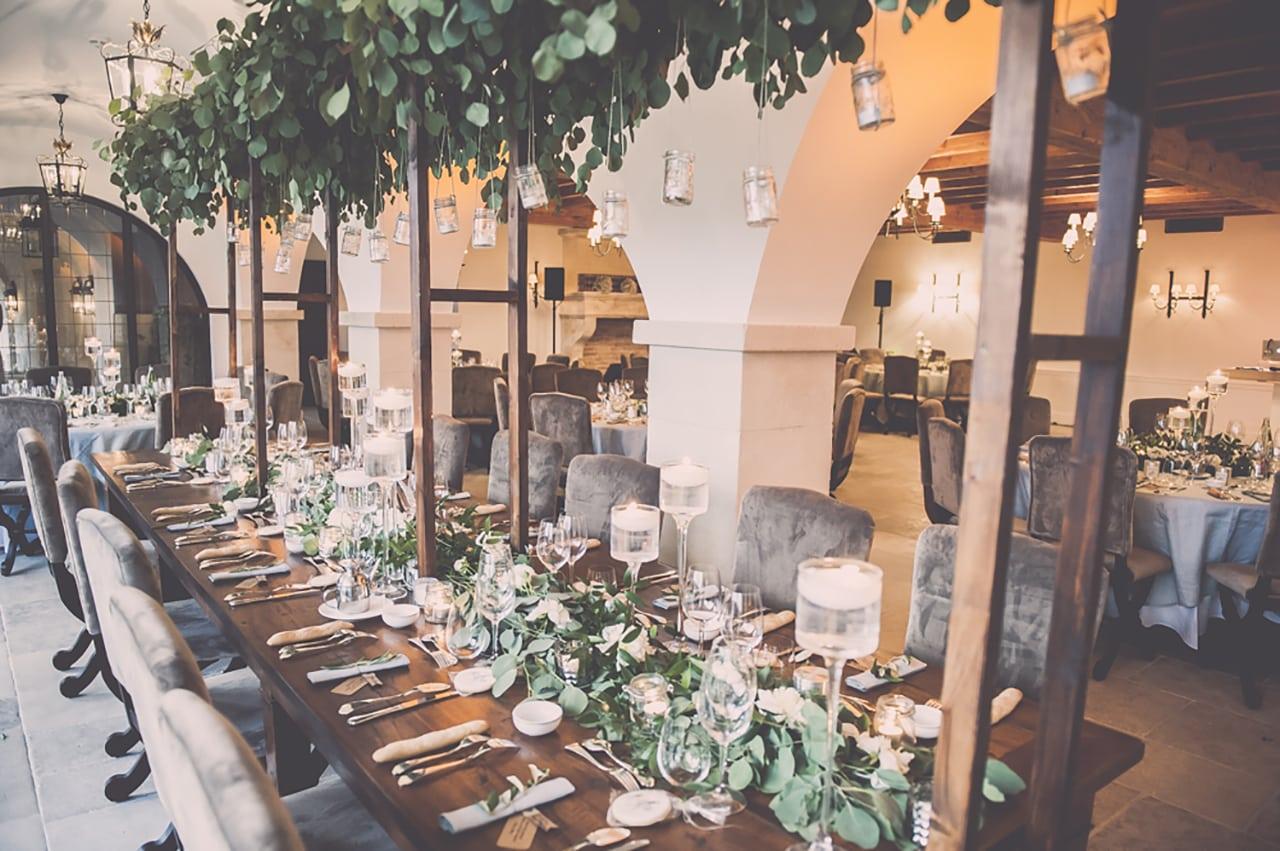 table d'honneur mariage chic et luxe en provence - lubéron