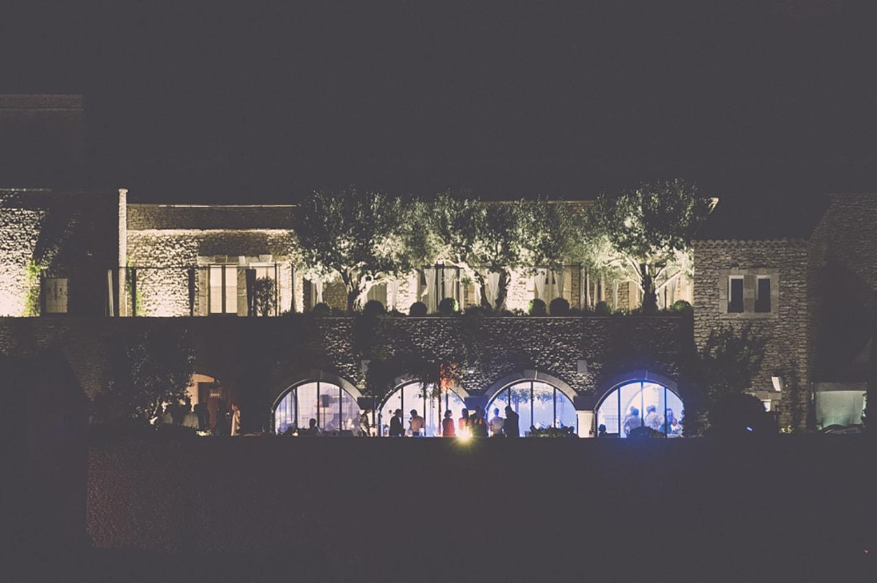 soirée de mariage chic en provence
